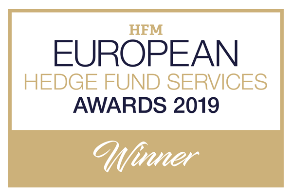 Winner 2019 HFM European Fund Sevices Award - Best Prime Broker – Technology