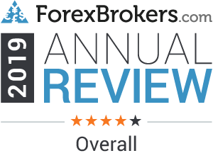 forexbrokers.com 2019 4 stars overall