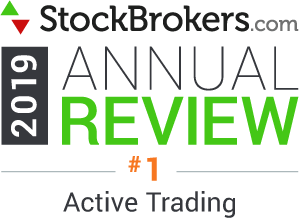 stockbrokers.com 2019 best in class active trading