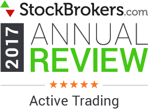 Interactive Brokers reviews: 2017 Stockbrokers.com Awards - 5 Stars - Active Trading