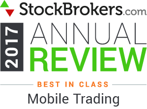 2017 Stockbrokers.com Awards - Best in Class - Active Trading