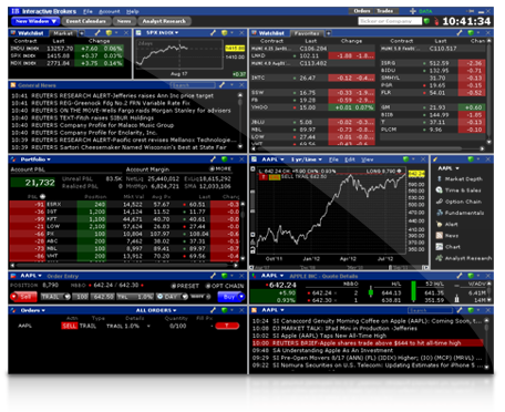 Trader Workstation Interactive Brokers