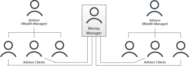 money managers account structure